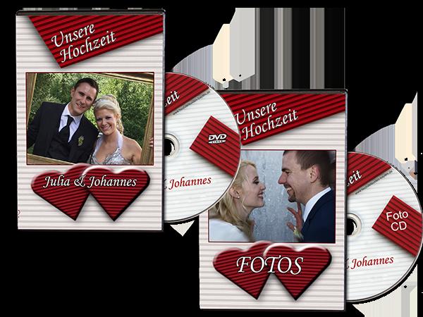Hochzeitsvideo - Foto-Film-Paket